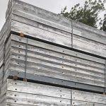 Used Wall Formwork for sale - Doka Alu Framax